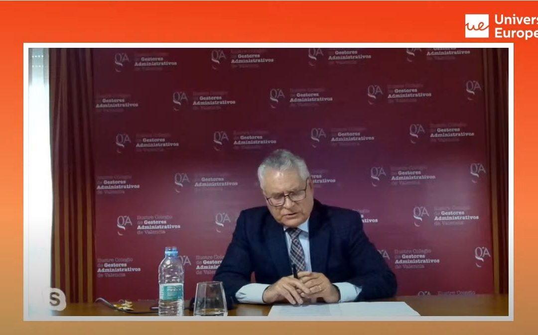Participamos en la masterclass «Conoce el rol del Gestor Administrativo» de la Universidad Europea