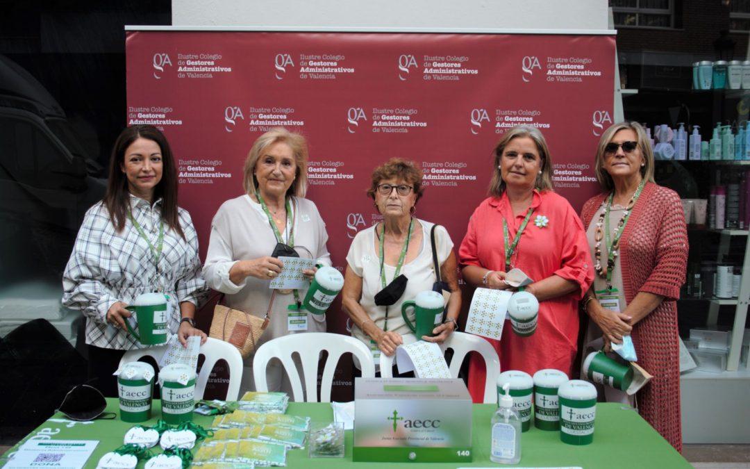 Participamos en la cuestación contra el cáncer